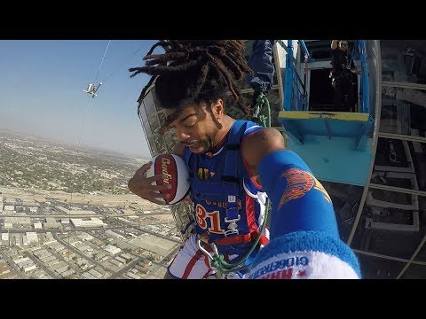 World's Highest Slam Dunk | Harlem Globetrotters