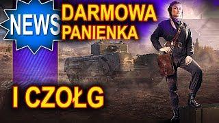 Darmowa panienka i czołg w World of Tanks