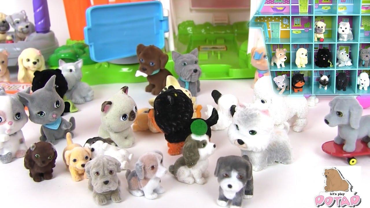 Это супер интересное видео с распаковкой сюрприз игрушек Puppy