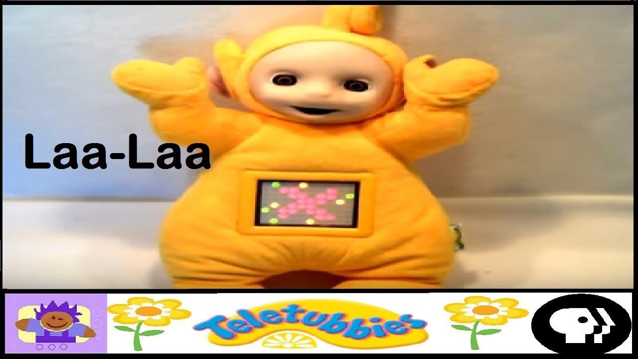 Laa Laa: 1998 ActiMates Interative Teletubbies Laa-Laa Plush Toy By