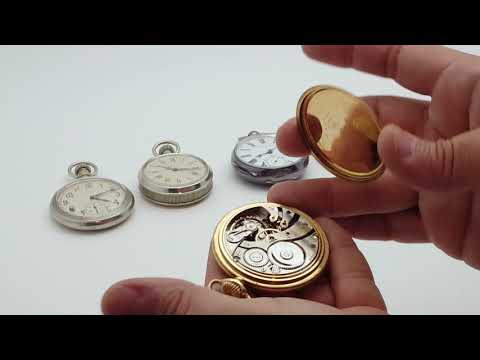 Pocket Watch Cases And How To Open