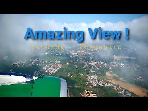 Citilink Landing Pekanbaru | Bandara Sultan Syarif Kasim II