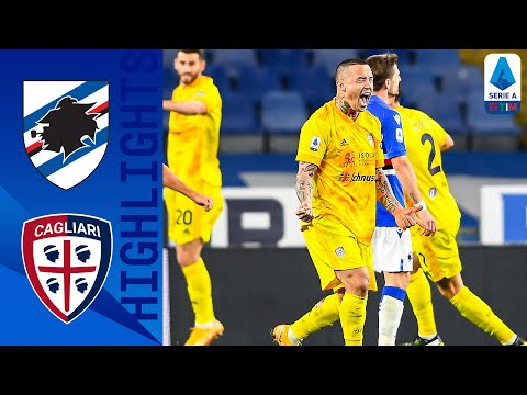 Sampdoria Cagliari Goals And Highlights