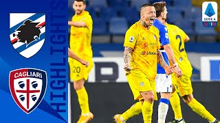 Sampdoria 2-2 Cagliari | Nainggolan Rescues Cagliari with a 96th Minute Equaliser! | Serie A TIM