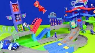 PJ MASKS deutsch: Pyjamahelden Catboy, Gekko, Owlette & Romeo für Kinder | Spielzeugautos Unboxing