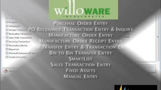WilloWare LabelLink for Microsoft Dynamics GP
