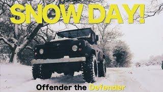 SNOW DAY! Defender Fun