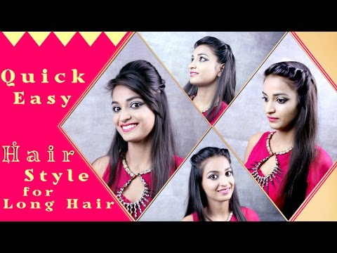 Hairstyles for Long Hair – Quick and Easy diy