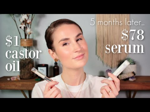 THE DIRTY TRUTH ABOUT NATURAL EYELASH SERUMS | 5 Month Results