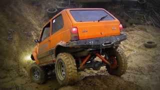 SAMPANDER-FIAT-panda 4x4 off road-zostrih Brezno 2.11 .2013 upravený špeciál
