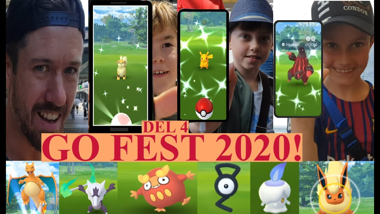 Pokemon GO på Svenska | Pokemon GO FEST 2020 DEL 4! | SHINY HEATMOR! | Johans Pokemon GO