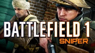 Battlefield 1: Sniper Support - 64 Player Operations (PS4 PRO Multiplayer Gameplay)