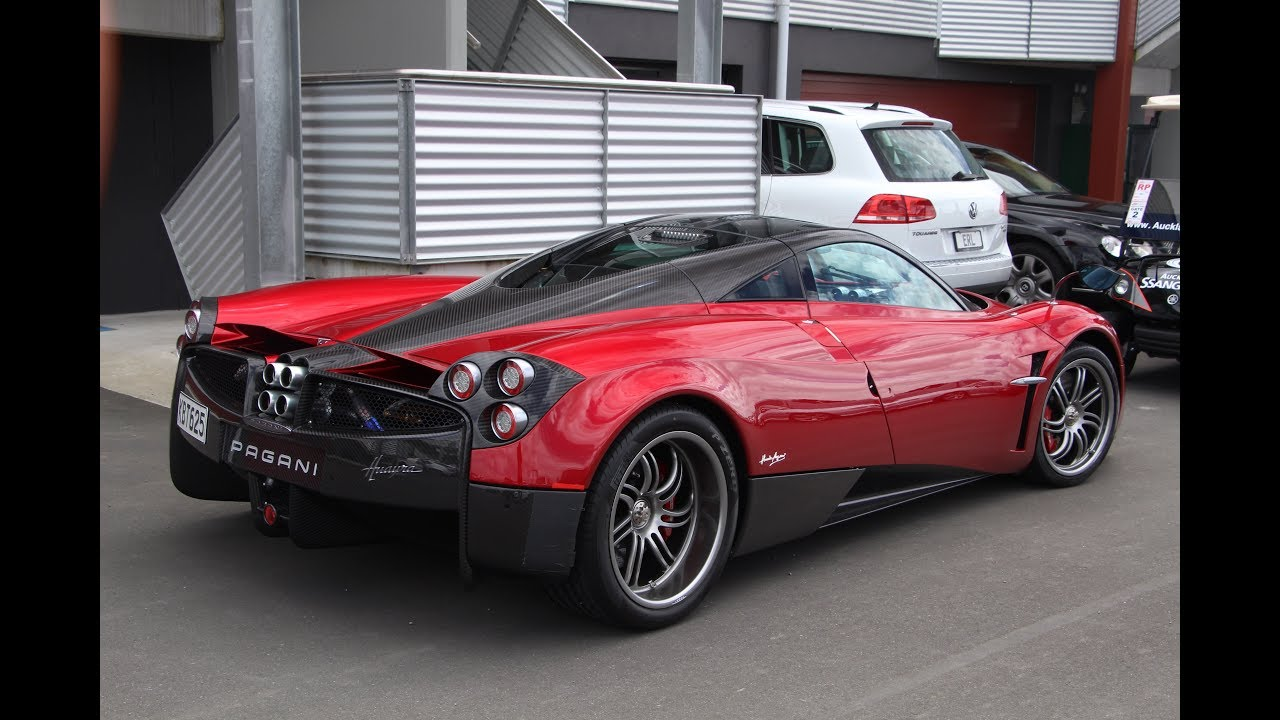 ONLY Pagani Huayra in New Zealand!!!! - YouTube