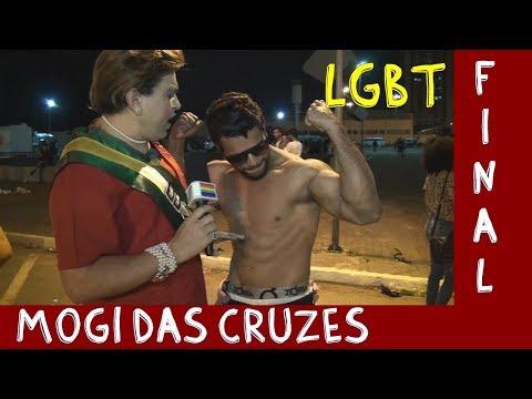 Final da Parada LGBT Mogi das Cruzes SP 2019