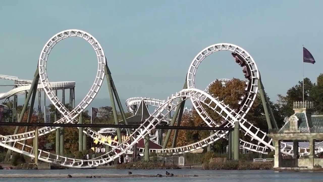 Big Loop Saltau Heidepark Planet Coaster Youtube