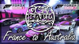 Forza Gumball 3000!! (France to Australia Rally/Cruise)