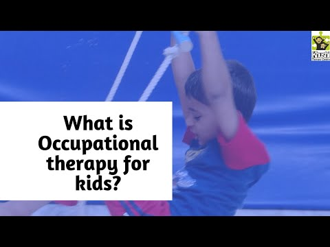 What is Occupational Therapy (OT)? How will Occupational therapist help my child?