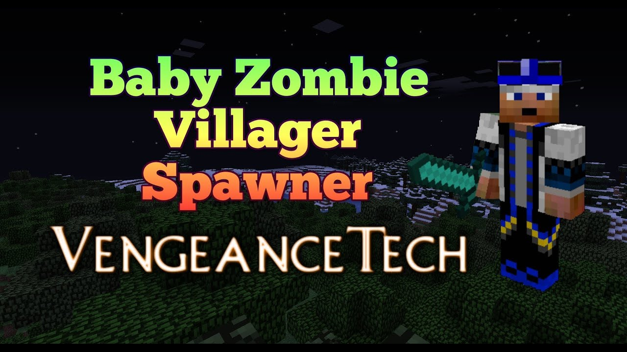 minecraft how to build a villager spawner