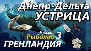 Устрица Днепр Дельта / РР3 [Русская Рыбалка 3 Гренландия]