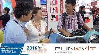 Xskate Hoverboard Coverage - Hong Kong Electronics Fair 2016 Spring Edition