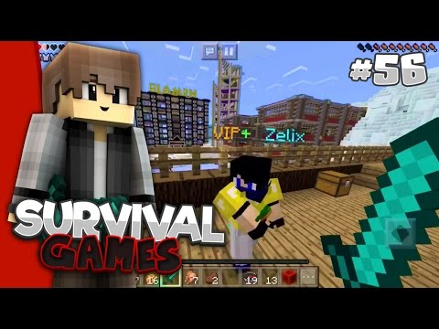 I WON A LIFEBOAT PRIZE?!? - MCPE Survival Games #56 w/Zelix!