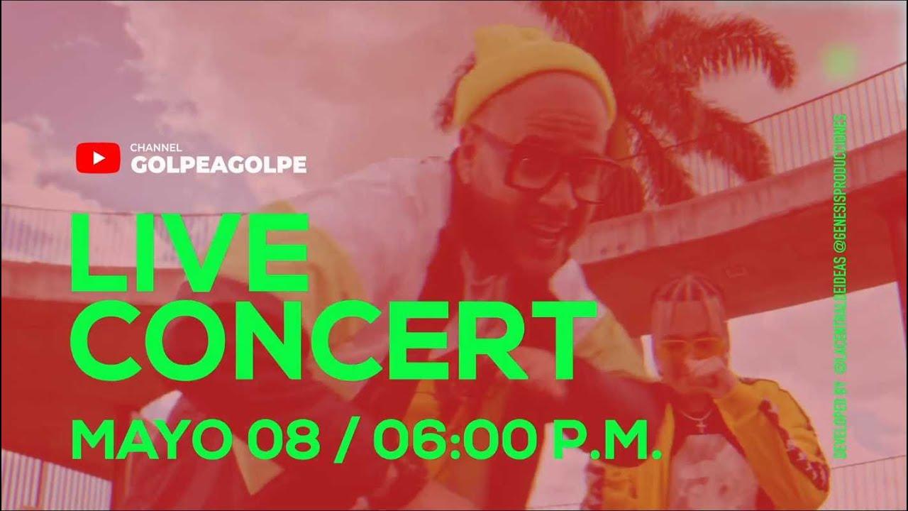 #Quédateencasa y canta, baila y celebra #Conmigo Golpe a Golpe -  Live Concert