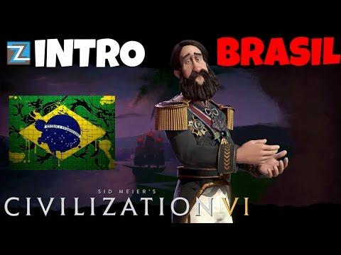 Civilization 6 - Império do Brasil [0] Introdução Vamos Jogar Gameplay Português PTBR Civ 6