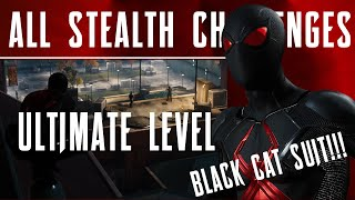 How to Get the Ultimate Level in Stealth Challenge! Spider-Man PS4 Pro