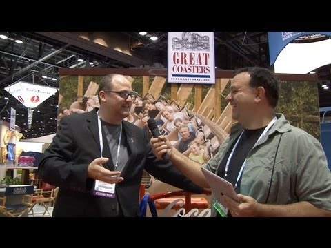 IAAPA 2012 Trade Show Coverage Part 3 - Great Coasters, Gravity Group, Hades 360 Roller Coaster