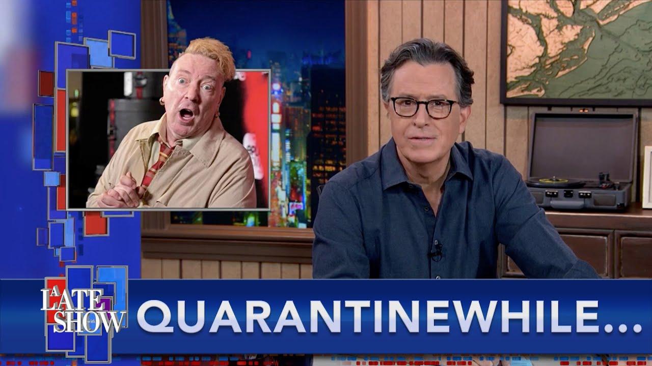 Quarantinewhile... Sex Pistols Star Johnny Rotten Recovering From Squirrel Flea Bite