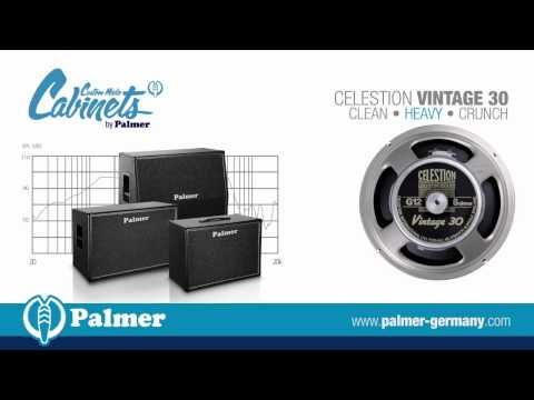 Palmer Custom Cabinet with Celestion Vintage 30 speaker-chassis