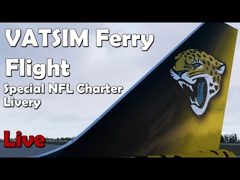 NFL Ferry Flight (VATSIM) KPAE - KJAX (Everett to Jacksonville)