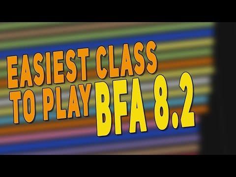 BfA 8.2 Easiest & Best Class To Play - Top Beginner Class (Tank | DPS | Healer) | WoW: Patch 8.2