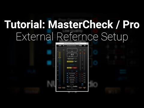 Tutorial: MasterCheck Pro External Reference Setup