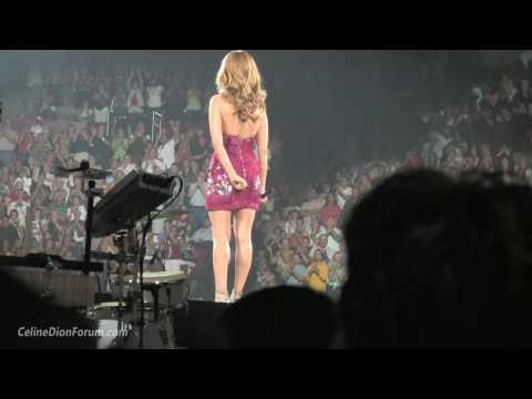 Celine Dion - The Power Of Love & Opening Speech (Montreal, 8-15-2008) HD