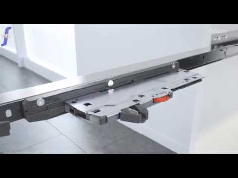 Blum Tip On Blumotion Assembly Youtube