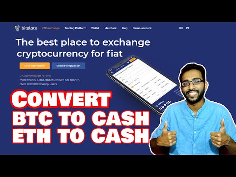 How to Exchange Bitcoin with Fiat or Hard cash - Best P2P Exchnage Bitzlato