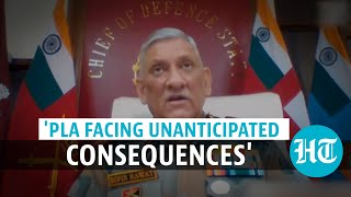 'Larger conflict can't be discounted': CDS Gen Bipin Rawat on China tension