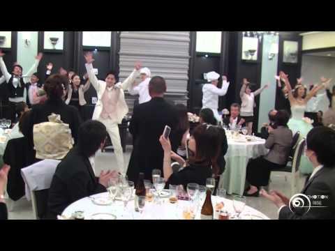 Flashmob Surprise Wedding フラッシュモブ サプライズ 結婚式披露宴 グッキー Greeeen ' GOOD LUCKY!!!!! '