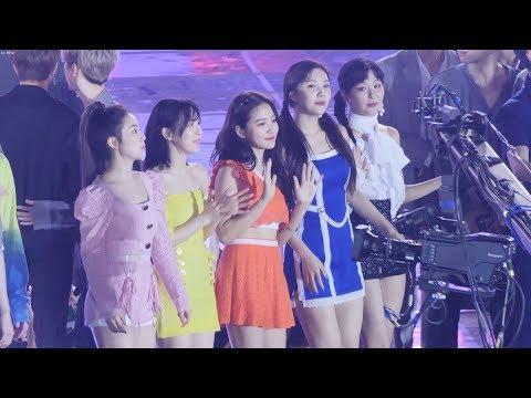 레드벨벳 (Red Velvet) 소녀시대 - 다시만난세계 부르는 레드벨벳 엔딩(Ending) [4K] 직캠 Fancam by Mera