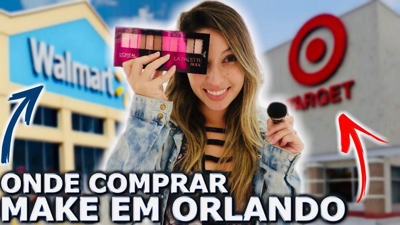 Walmart X Target Onde Comprar Maquiagem Em Orlando