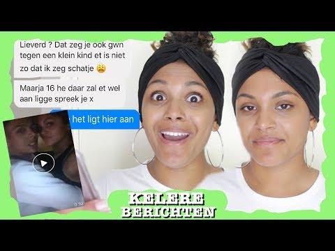 HIJ BEDREIGDE MIJ & WILDE MIJ OPZOEKEN! | REAGEREN OP KELERE BERICHTEN | Kelly Buth