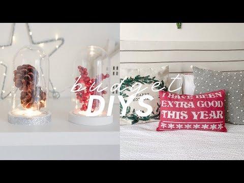 DIY Christmas Decorations on a Budget | Poundland Holiday Hacks 2019