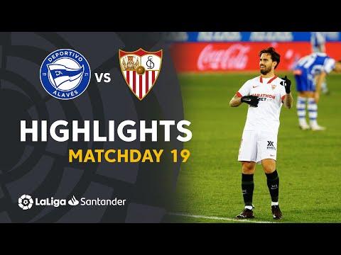 Alaves Sevilla Goals And Highlights