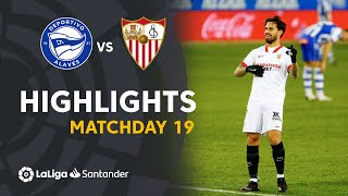 Highlights Deportivo Alavés vs Sevilla FC  (1-2)