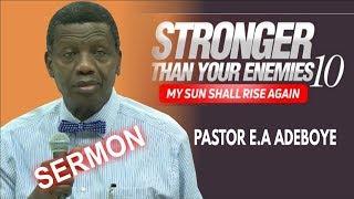 Pastor EA Adeboye Sermon  RCCG November 2018 HOLY GHOST SERVICE