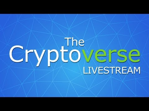 8th Feb The Cryptoverse LIVE - Q&A + So Much News On Bitcoin, Cryptocurrencies and Blockchains!
