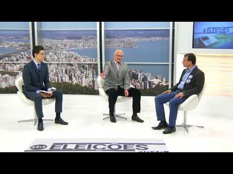 Entrevista com Carlos Moisés, candidato pelo PSL ao governo de SC | SBT Meio-Dia