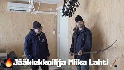 Jääkiekkoilija Miika Lahti lämmittää lämpöpumpuilla