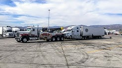 Towing With Rotator! 145,000 Pounds Downhill